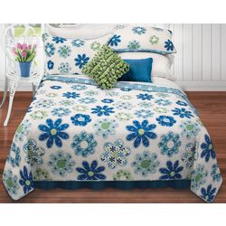 Colour Your Home Hayley Quilt Set