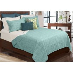 Colour Your Home Tropicana Luxury Quilt Set