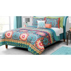 Colour Your Home Mandala Comforter Set