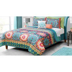 Colour Your Home Mandala Comforter Set