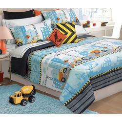 Colour Your Home Under Construction Comforter Set