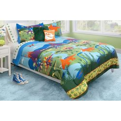 Colour Your Home Lost World Comforter Set