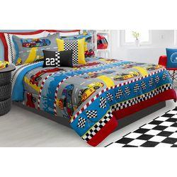 Colour Your Home Grand Prix Comforter Set