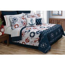 Colour Your Home Bay Harbor Quilt Set
