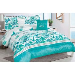 Tropical Winds Salt Sand Sea Comforter Set
