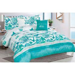 Tropical Winds Salt Sand Sea Comforter Set
