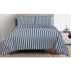 Beatrice Stripe Quilt Set