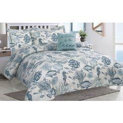 Tropic Winds Deep Sea Comforter Set