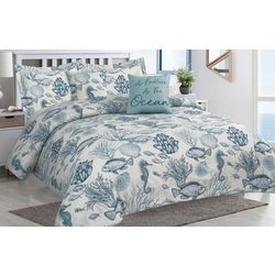 Tropic Winds Deep Sea Comforter Set