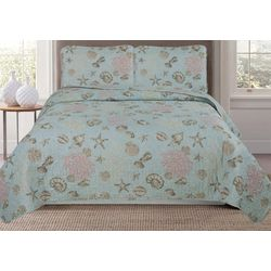 Main Street Siesta Key Quilt Set