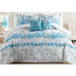 Tropic Winds Sea Line Comforter Set