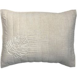 Beatrice Pamala Palm Leaf Pillow Sham