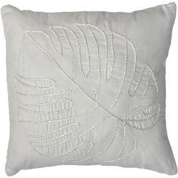 Beatrice Pamala Palm Leaf Decorative Pillow