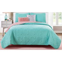 VCNY Home Pineapple Sunday Quilt Set