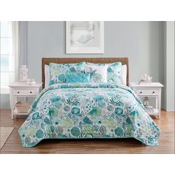 VCNY Home Ivory Coast Quilt Set