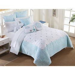 Retreat Home Collection Myrtle Beach Bedspread