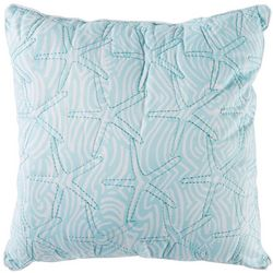 Retreat Home Collection Starfish Decorative Pillow