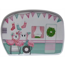 Brighten the Season Mix & Flamingle Camper Platter