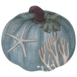 Brighten the Season 2-pc. Harvest Blue Pumpkin Plate Set