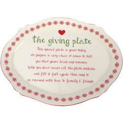 Dennis East Ceramic The Giving Plate