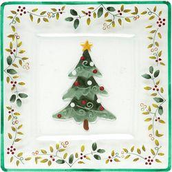Pfaltzgraff Winterberry Christmas Tree Platter