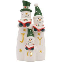 Pfaltzgraff Winterberry LED Caroling Snowmen Figurine