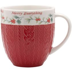 Pfaltzgraff Winterberry Embossed Coffee Mug