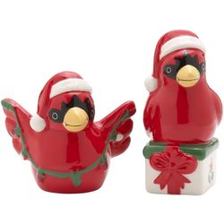Pfaltzgraff Winterberry Cadinal Salt & Pepper Shaker Set