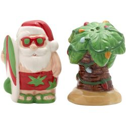 Pfaltzgraff 2-pc. Winterberry Santa & Palm Tree Shaker Set
