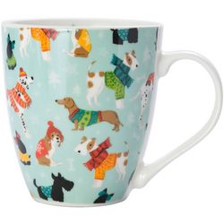 Pfaltzgraff Christmas Dog Coffee Mug