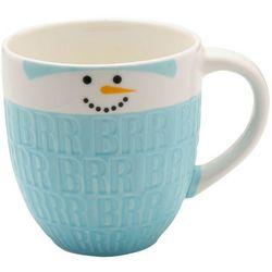 Pfaltzgraff Debossed Snowman Coffee Mug