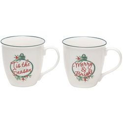 Pfaltzgraff 2-pc.Winterberry Holiday Mug Set