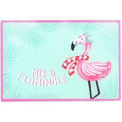 Brighten the Season Mix & Flamingle Cutting Board