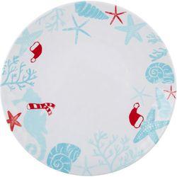 Brighten the Season Sandy Shore Dinner Plate