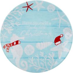 Brighten the Season Sandy Shores Salad Plate