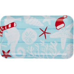 Brighten the Season Sandy Shore Tidbit Tray