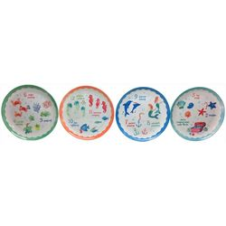 Brighten the Season 4-pc. 12 Days Christmas Appetizer Plate