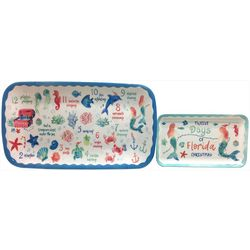 Brighten the Season 2-pc. 12 Days Christmas Tray Set