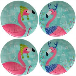 Brighten the Season 4-pc. Fa La La Flamingo Appetizer Plate