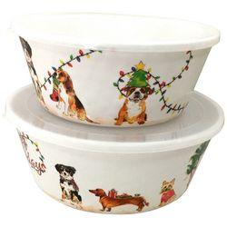 Brighten the Season 2-pc. Happy Pawlidays Dog Nested Bowl