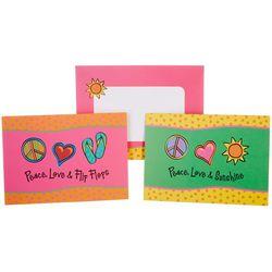 Cape Shore Peace Love & Sunshine Boxed Note Cards