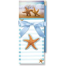 Cape Shore Starfish Magnetic Note Pad Gift Set