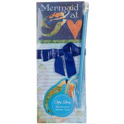 Cape Shore Mermaid At Heart Magnetic Memo Pad