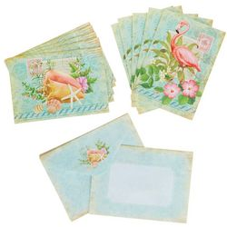 Cape Shore Flamingo & Shell Boxed Note Cards
