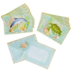 Cape Shore Turtle & Dolphin Boxed Note Cards
