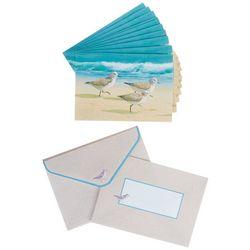 Cape Shore Sandpiper Birds Boxed Note Cards