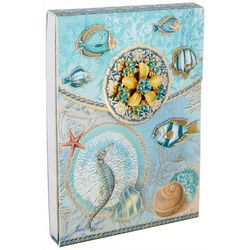 Punch Studio Seascape Mini Flip Note Pad
