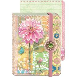 Punch Studio Pink Dahlia Soft Cover Journal