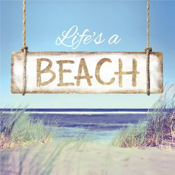 P. Graham Dunn Life's A Beach Car Charm