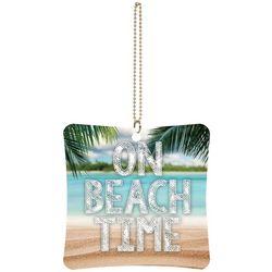 P. Graham Dunn On Beach Time Car Charm